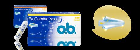 Тампоны o.b.<sup>&reg;</sup>ProComfort™ Night